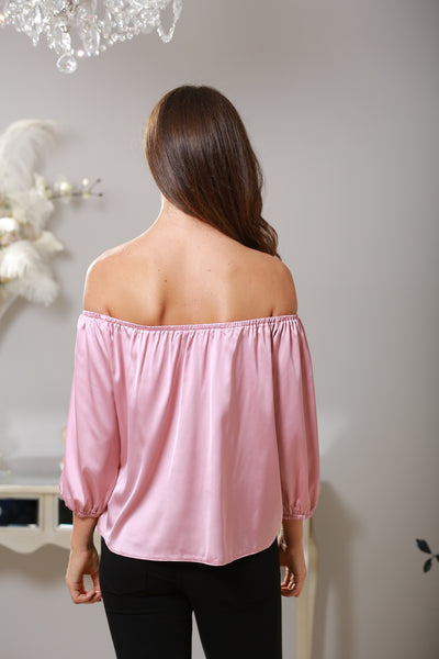 Lucy Silk Feel Off The Shoulder Top - LadyVB   s.r.o - 2
