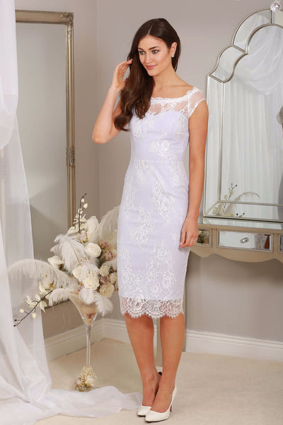 Harper Lilac Lace Dress - LadyVB   s.r.o - 1