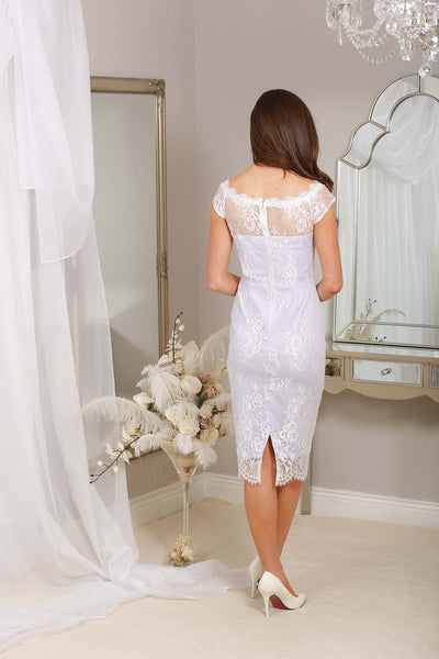 Harper Lilac Lace Dress - LadyVB   s.r.o - 5