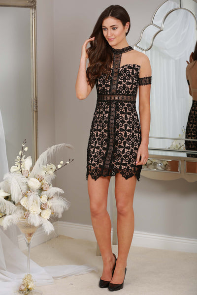 Sade Black Lace Dress - LadyVB   s.r.o - 1