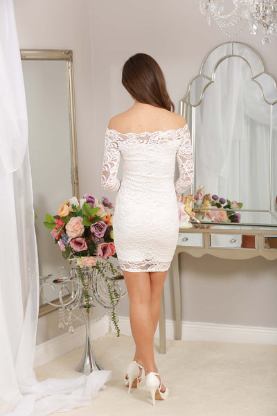 Jackie Lace Dress - LadyVB   s.r.o - 3