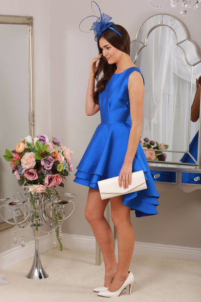 Leanne Royal Dress Dip Back - LadyVB   s.r.o - 1