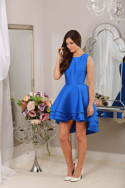 Leanne Royal Dress Dip Back - LadyVB   s.r.o - 3