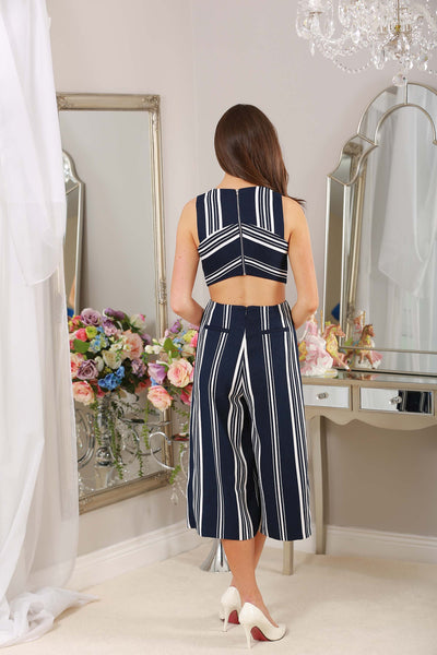 Freya Striped Jumpsuit - LadyVB   s.r.o - 4