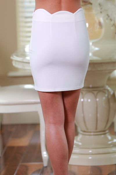 Amy Vanilla Mini Skirt - LadyVB   s.r.o - 2