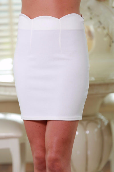 Amy Vanilla Mini Skirt - LadyVB   s.r.o - 1