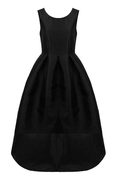 Black Dip Back Dress - LadyVB   s.r.o - 4