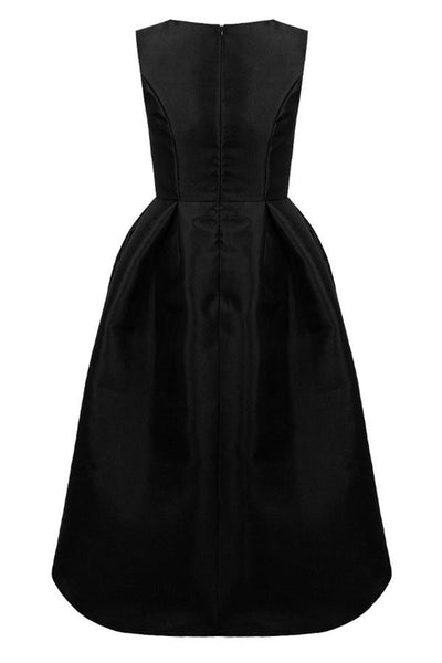 Black Dip Back Dress - LadyVB   s.r.o - 8