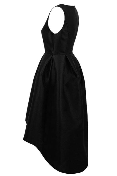 Black Dip Back Dress - LadyVB   s.r.o - 6