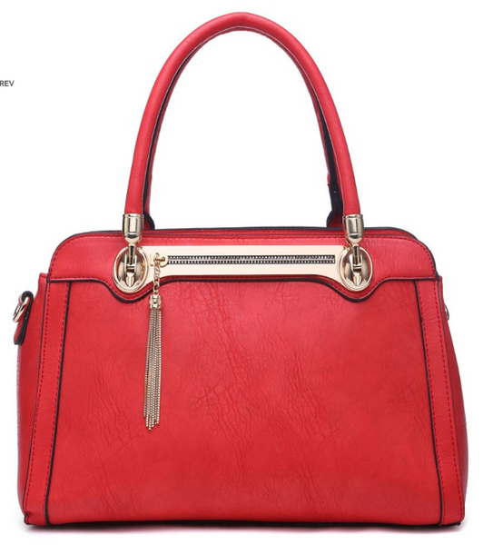 Red Handbag - LadyVB   s.r.o - 1
