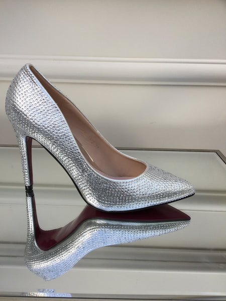 Silver Bling Heels Shoes - LadyVB   s.r.o - 1