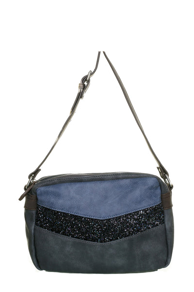 Donna Navy Blue Small Shoulder Handbag - LadyVB   s.r.o - 1
