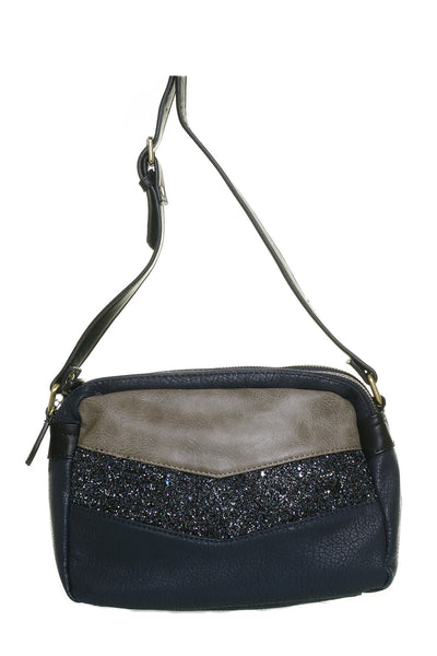 Donna Navy Small Shoulder Handbag - LadyVB   s.r.o - 1