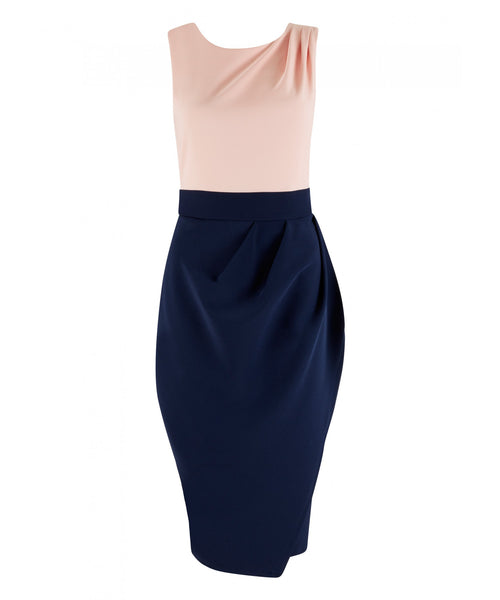 Frankie Pale Pink and Navy - LadyVB   s.r.o - 4