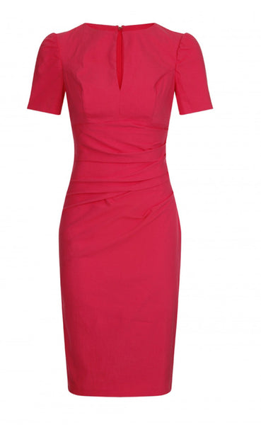 Jiordana Pink Dress - LadyVB   s.r.o - 1