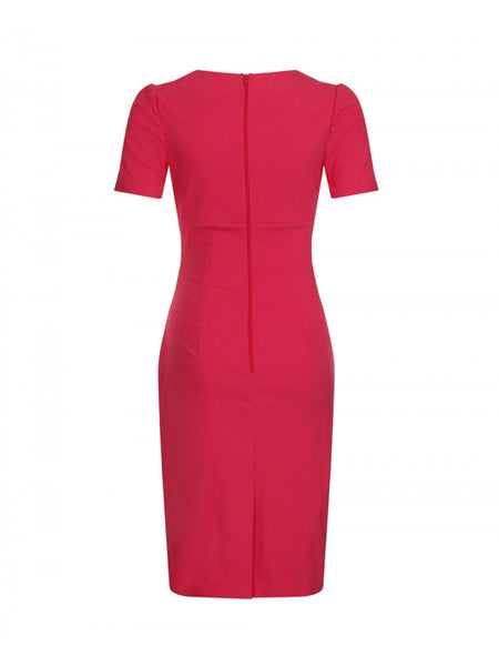 Jiordana Pink Dress - LadyVB   s.r.o - 4