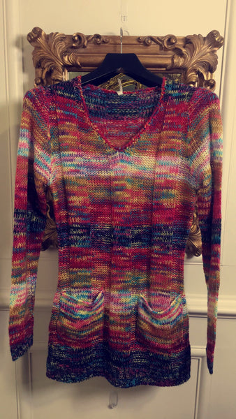 Multi Coloured Knit Jumper - LadyVB   s.r.o - 3