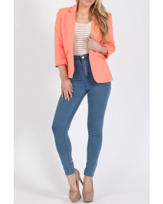 Coral Mandy Tailored Blazer - LadyVB   s.r.o - 2