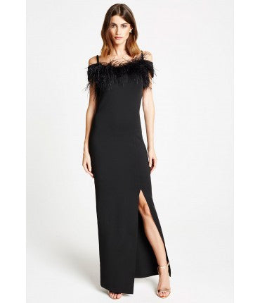 Kate Black Maxi Dress - LadyVB   s.r.o - 3