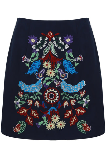 Embroidered Skirt - LadyVB   s.r.o - 2