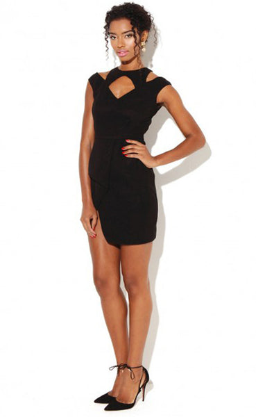 RECTORY BLACK DRESS - LadyVB   s.r.o - 1