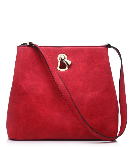 Christine Red strap handbag. - LadyVB   s.r.o - 1