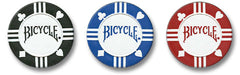 BICYCLE Premium Tournament Poker Chips with Tray