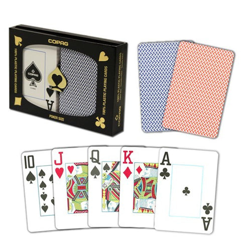 COPAG Export Poker Dual-deck Set (JUMBO Index)