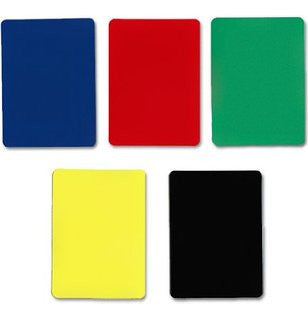 Cut Cards (Pack of 5) - Random Colours
