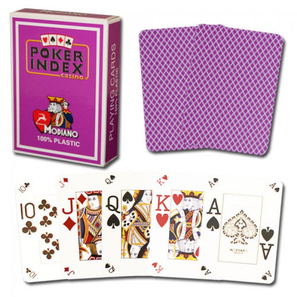 MODIANO Pokerpeek Deck (JUMBO Index with Pokerpeek)
