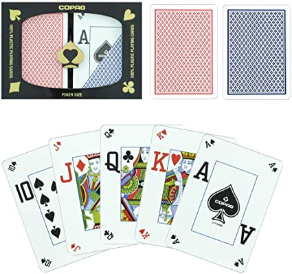 COPAG Poker Peek Dual-deck Set (Poker Peek Index)