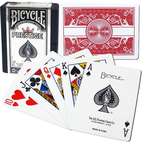 BICYCLE Prestige Deck (REGULAR Index)