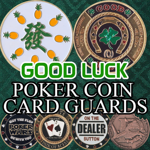 Poker Card Guard Coins