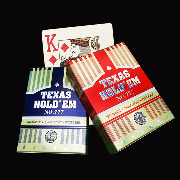 No. 777 Texas Holdem Deck (JUMBO Index)