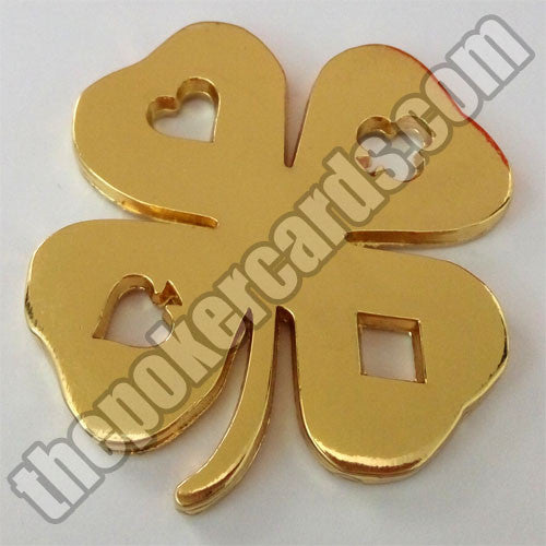 Poker Card Guard - 4 Leaf Clover