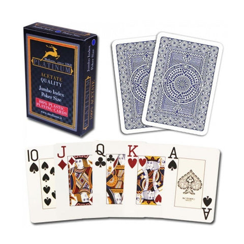 MODIANO PLATINUM Acetate Deck (JUMBO Index)