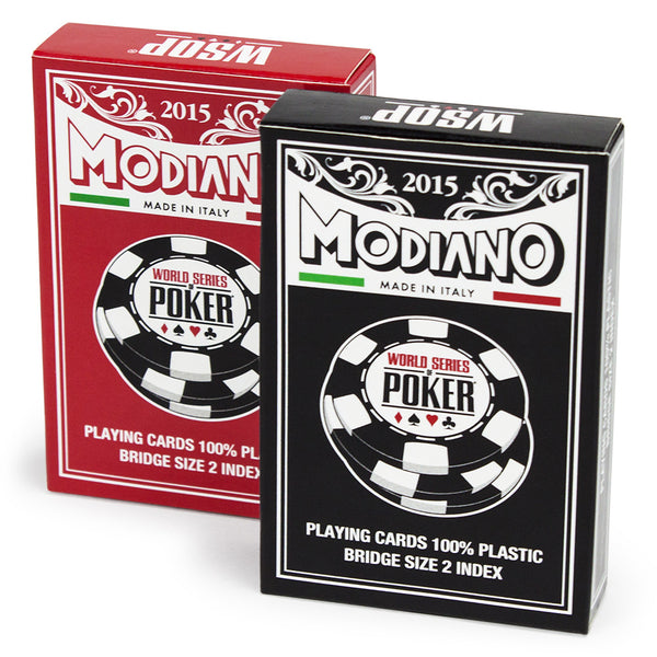 MODIANO WSOP 2015 Deck (REGULAR Index)