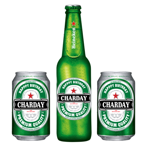 Custom Heineken Label