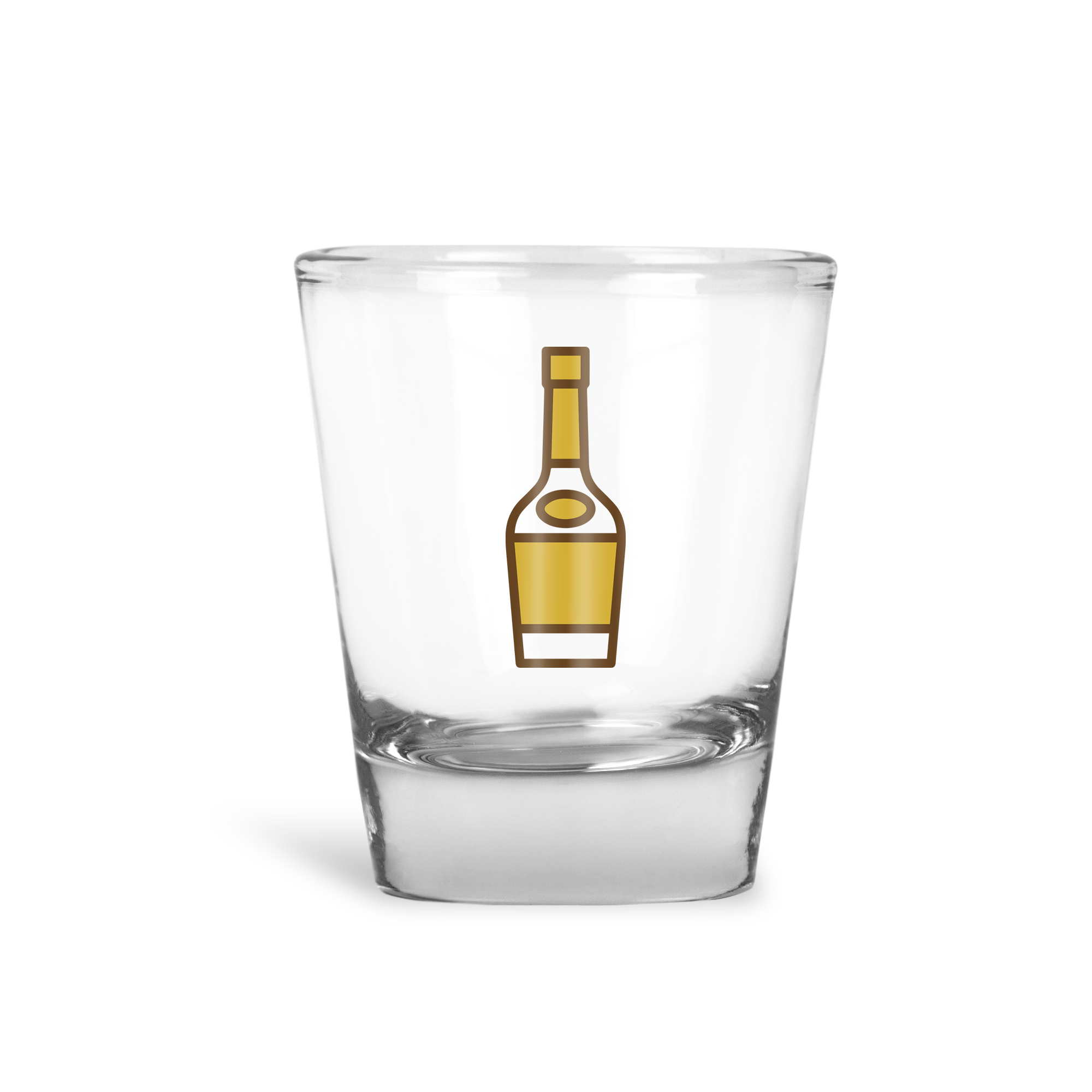 Henny Bottle Shot Glass