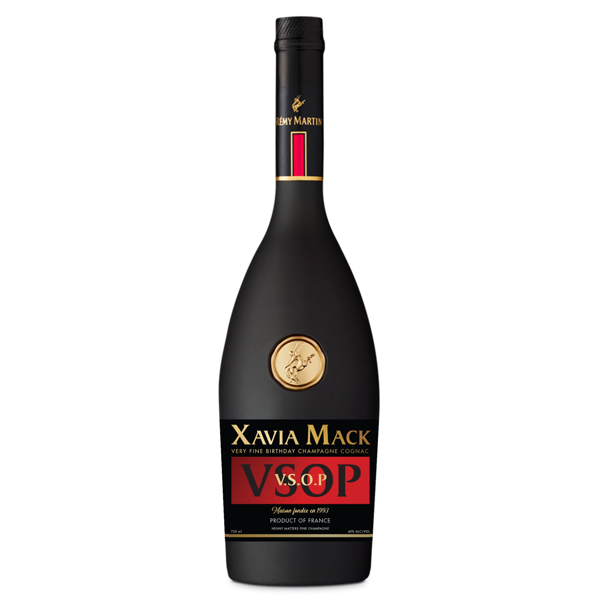 Custom Remy Martin Label