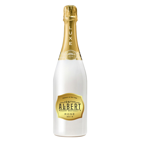Custom Gold Belaire Label