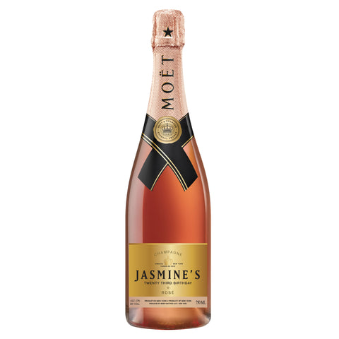 Custom Moet & Chandon Label