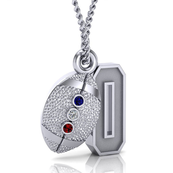 USWFL Number Pendant