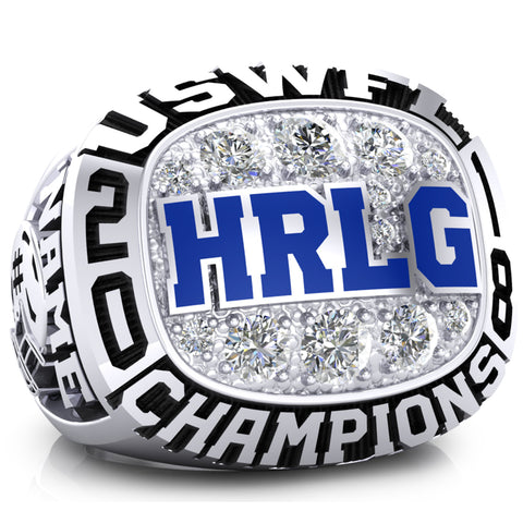 Hampton Roads Lady Gators Ring - Design 1.1
