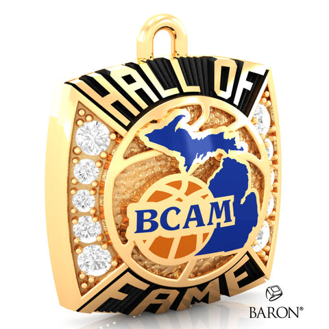 BCAM - Hall of Fame Ring Top Pendant - Design 1.11