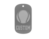 Championship Dog Tag - Baseball