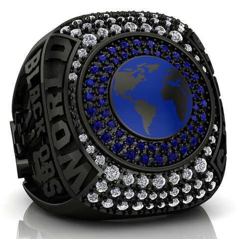 Black Ops Cheer Ring - Design 2.3 *BALANCE