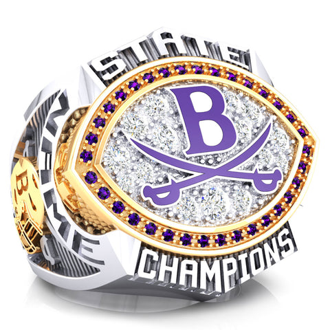 Brattleboro Colonels Ring - Design 1.2