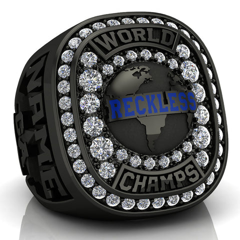 Bullets Cheer Ring - Design 2.3