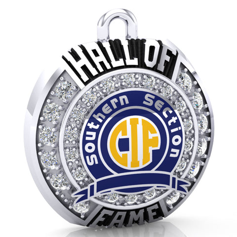 CIF - Southern Section Hall of Fame Ring Top Pendant - Design 1.2